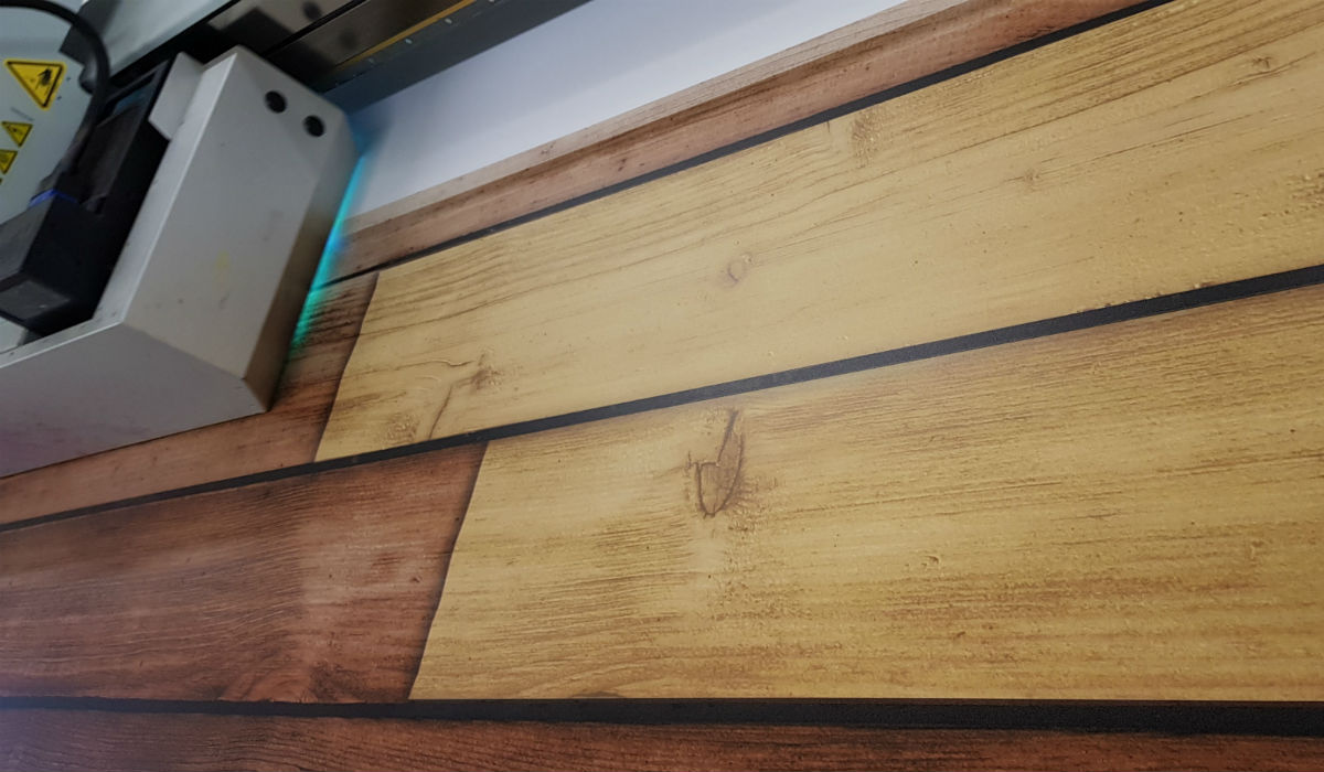 Laminated Floor Printing