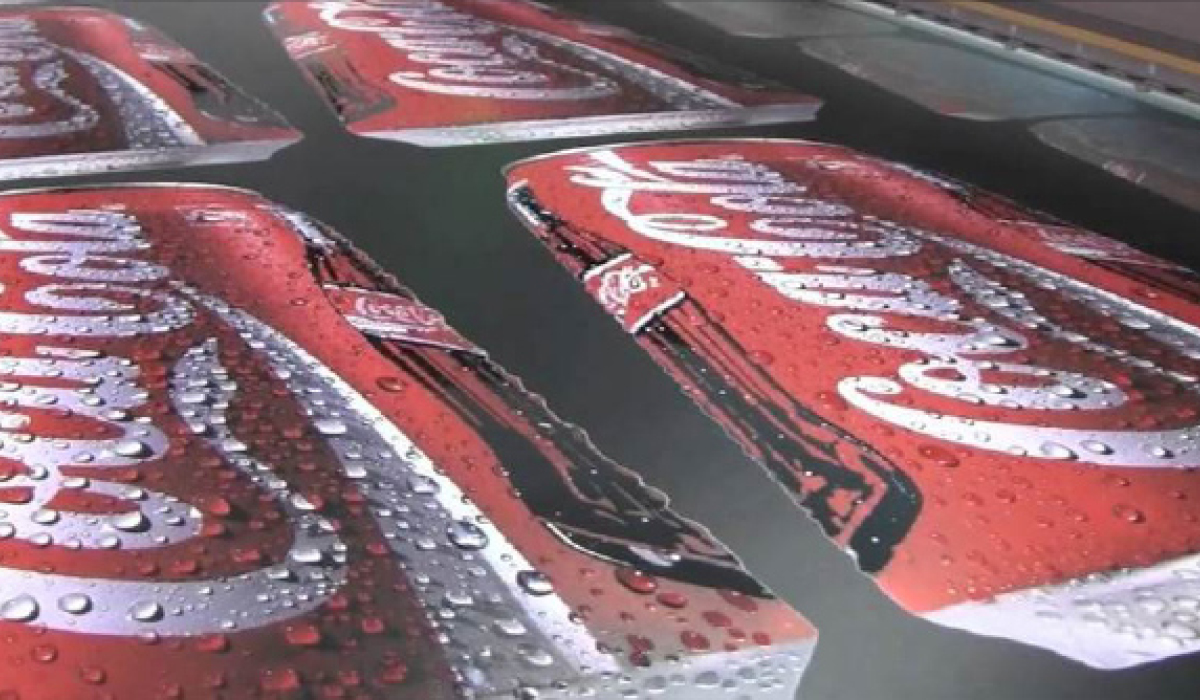 Coca Cola Printing Signage Advertising