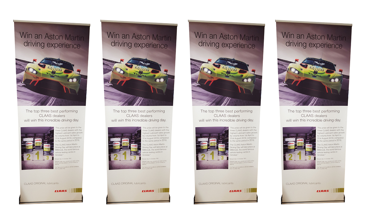 roll up banner stands printing services